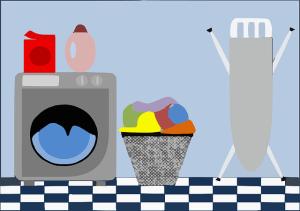 filipino maid laundry