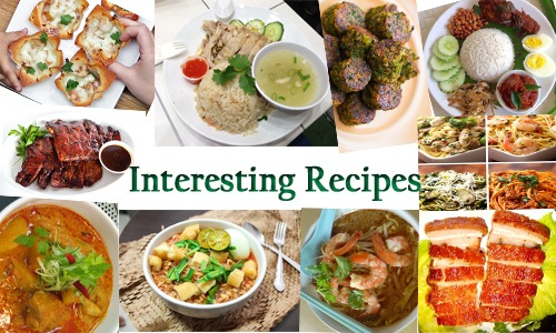 interesting recipes