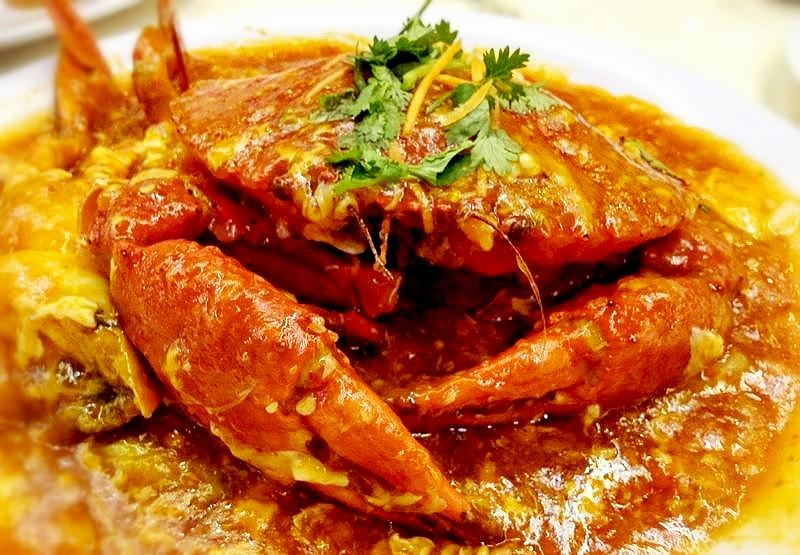Singapore Spicy Chilli Crab