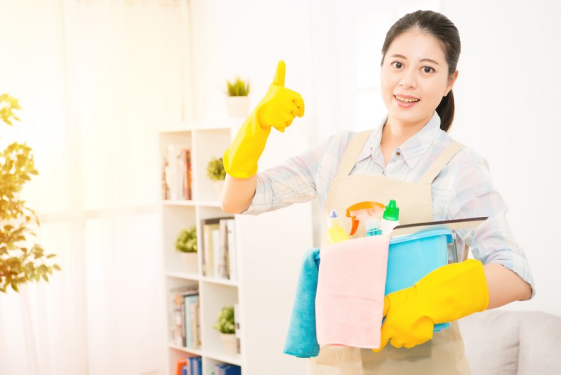Your Maid's 7-Day Weekly Chore Schedule 1