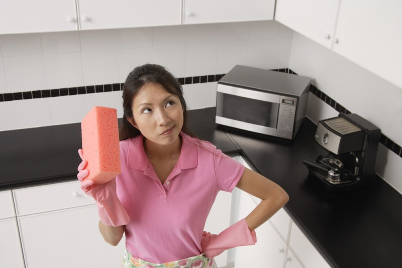 Tip for kitchen cleaning hacks, cleaning the kitchen, kitchen cleaning tips and tricks