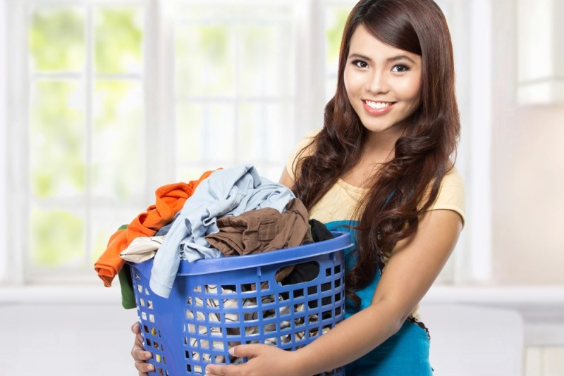 Common Laundry Problem Solutions for the Live-in Maid