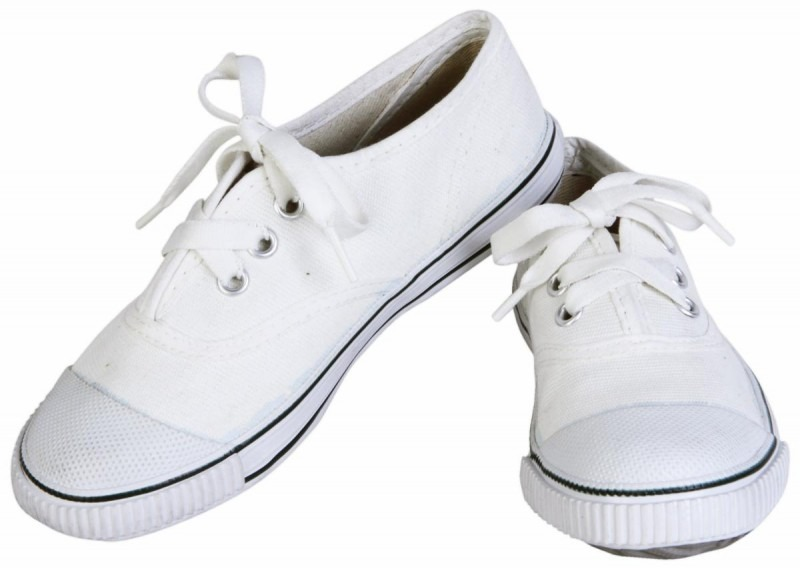 How to make white shoes white again